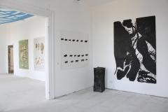 Gunter Damisch, Otto Zitko (Raumzeichnung), Edelgard Gerngross (Skulptur), Herbert Brandl