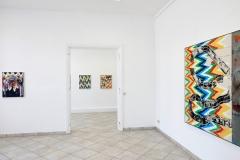 Andreas Plum, STRASSE DER JUGEND, Ausstellungsansicht CIRCUS SEINS, 2019 Foto: Thomas Häntzschel